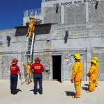 Fire Training Students at Tech School