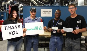 Manatee Tech Thanks Air Products