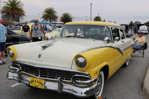 1956 Ford Fairlaine Club Sedan at MTC Car Show was among close to 100 entries
