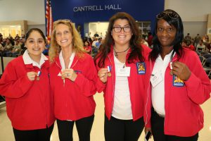 Ana Garcia Kathy Sandmuen Kelsey Midyett Kendra Williams - 1st place Health Knowledge Bowl-college