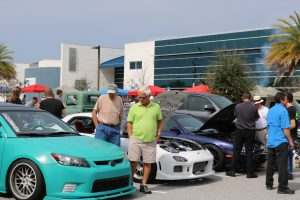 over 1,000 enjoyed the car show at MTC 2-18-17